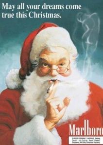 Vintage Santa Claus Cigarette Ads (5)